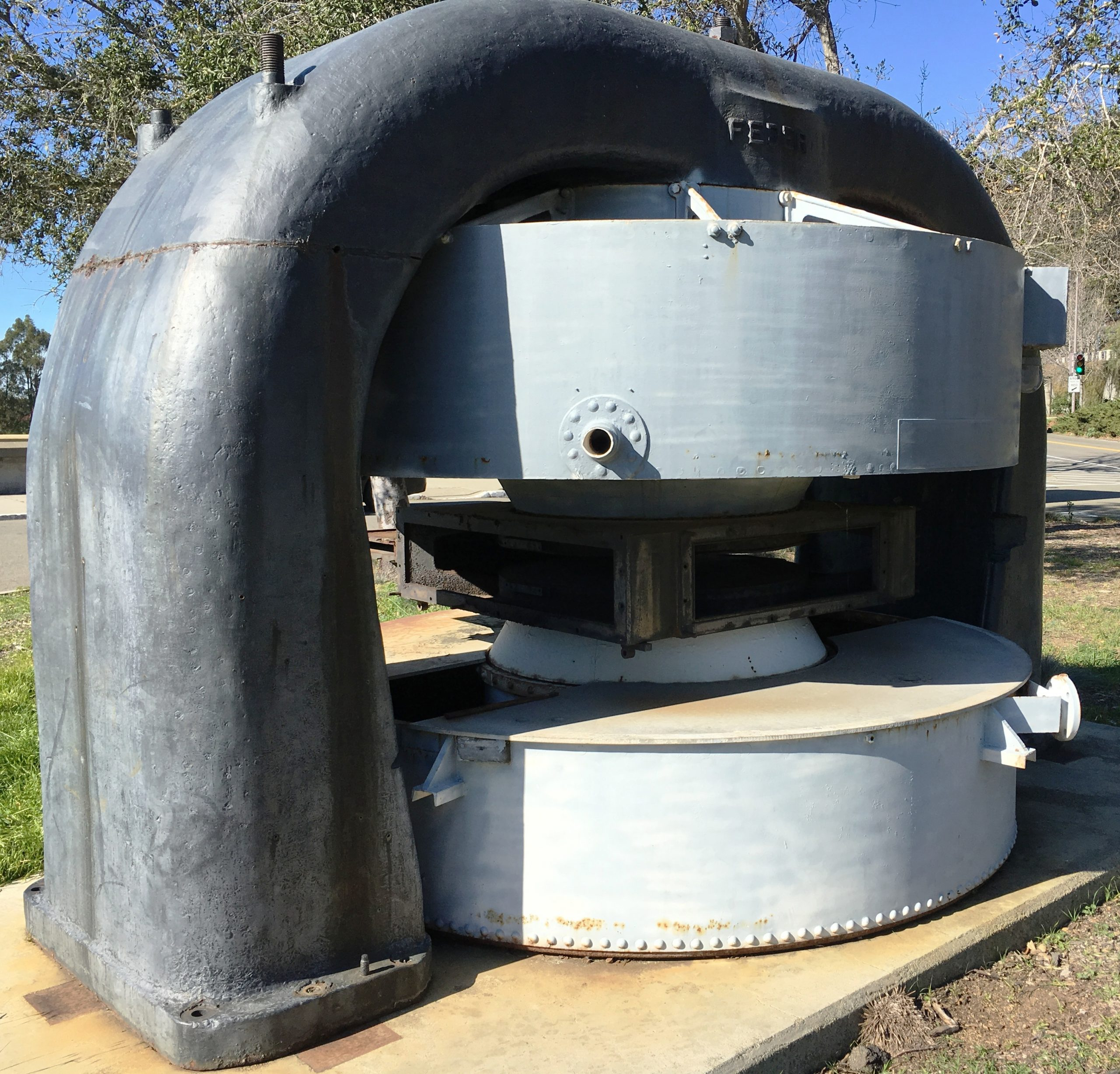 Figure 3. The 37inch cyclotron on display at the Lawrence Hall of Science. Photo by Deb McCaffrey.