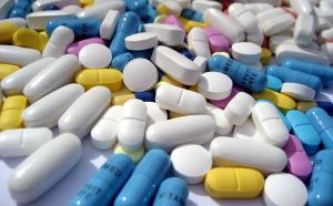 Thousands of medications exist to counteract effects of various proteins and enzymes.