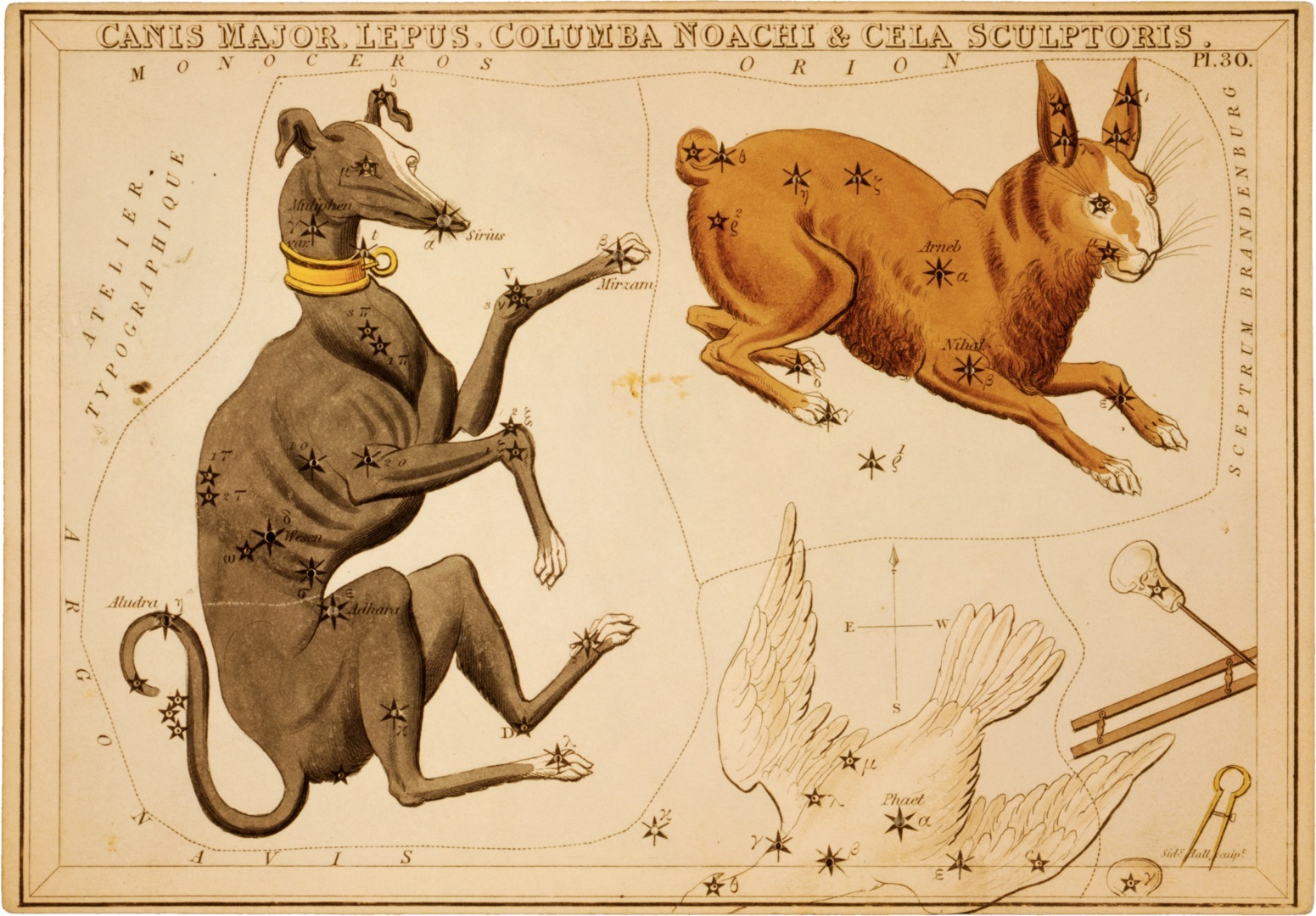 Artistic depictions of constellations help us understand positions of stars over time. (CC)