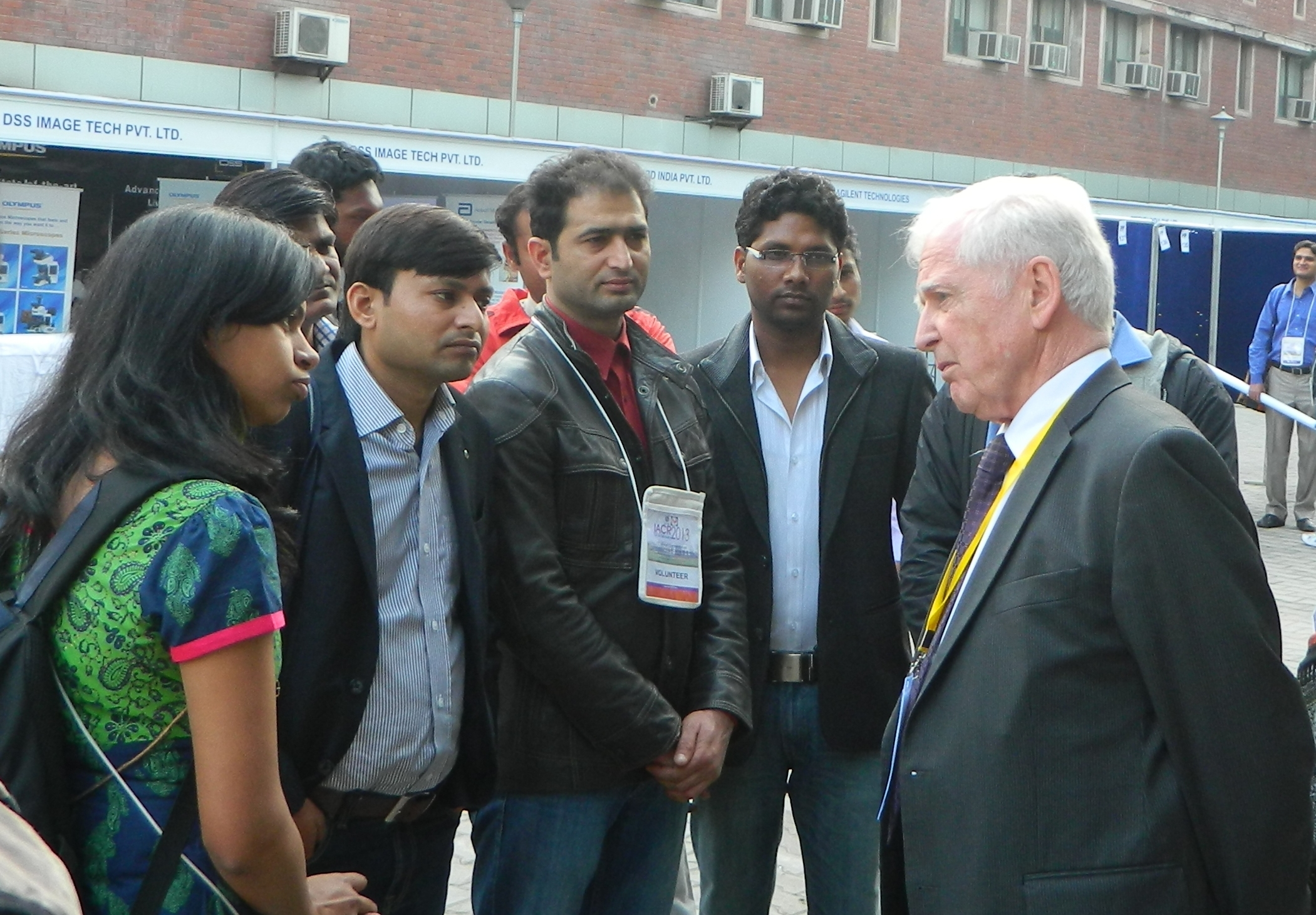 Interaction with Dr. Harald Zur Hausen