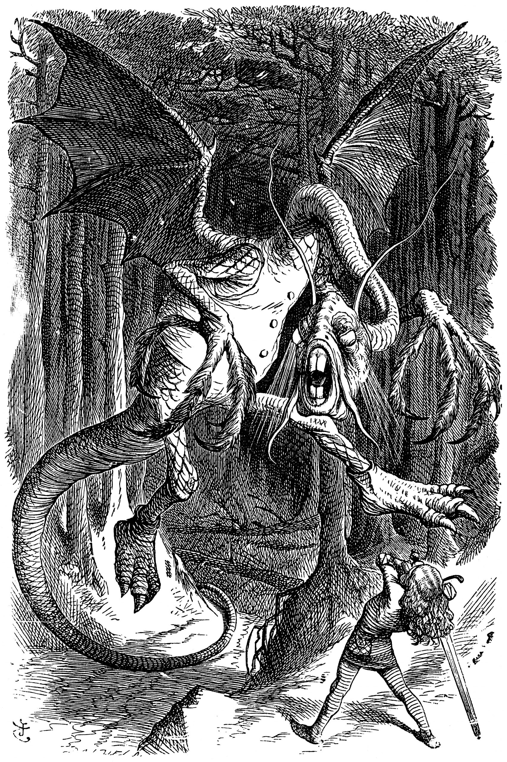 The Jabberwocky of journal articles. (Wikimedia Commons)