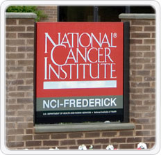 National Cancer Institute at Frederick, MD.
