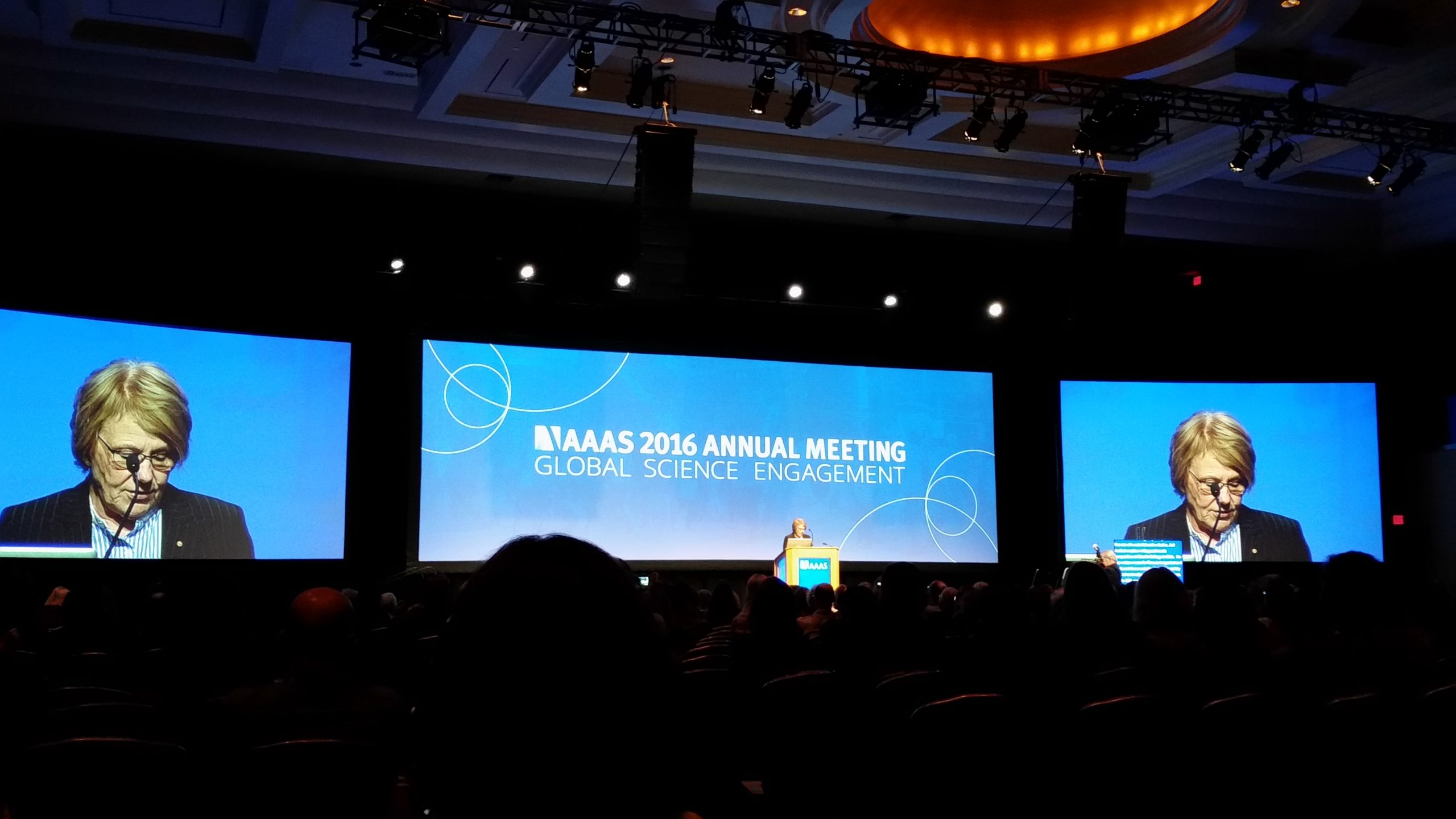 Figure 2. AAAS 2016 Annual Meeting. Photo credit: Cici Zhang.