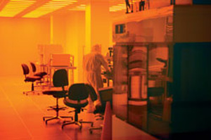University of Notre Dame Nanofabrication Facility. (Credit: University of Notre Dame)