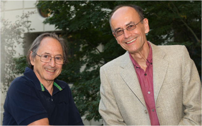 Stanford Professors and 2013 Nobel Prize recipients in Chemistry (Left: MichaeL Levitt) and Physiology or Medicine (Right: Thomas C. Sudhöf). Adapted from source.