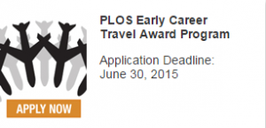 Apply for the PLOS Early Career Travel Award Program here: https://www.plos.org/travelawards/